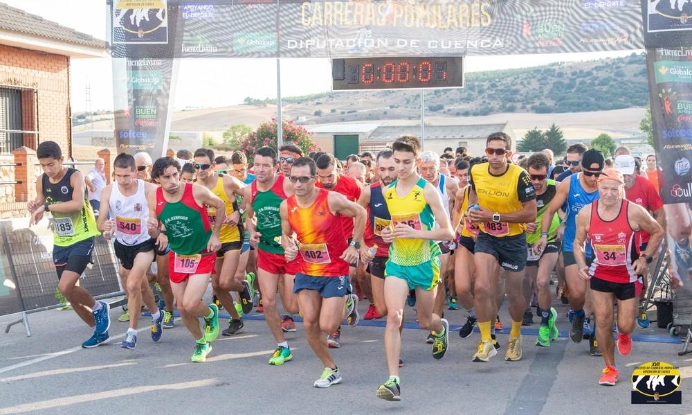 Cerrillo y Magán ganan la prueba popular de Villares del Saz