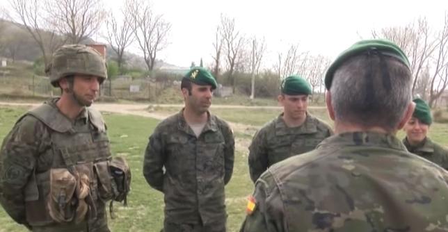 De Aizoáin a Líbano, nueva misión del regimiento América 66