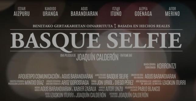 El director navarro Joaquín Calderón estrena 'Basque Selfie'