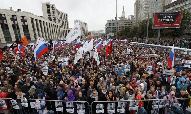 Rusia se revela contra Putin   Noticias El Día de Valladolid