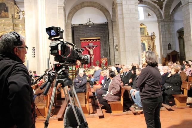 Televisión Española, escaparate de los cofrades de Tarancón