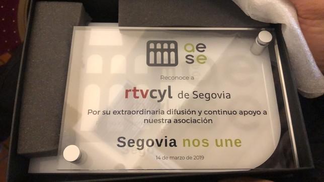 Premio a RTVCyL por difundir la labor empresarial