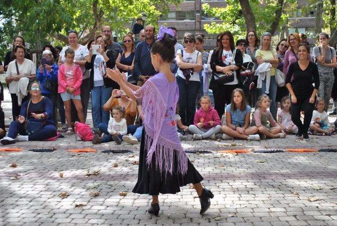 Flamenco y danza contemporánea infantil en la Circular