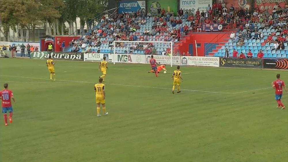 El Izarra acumula cuatro partidos seguidos sin ganar