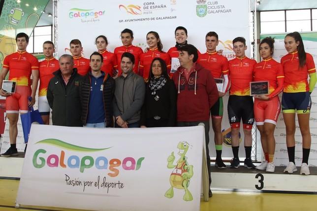 Gran papel en la 2ª prueba de la Copa de España de pista