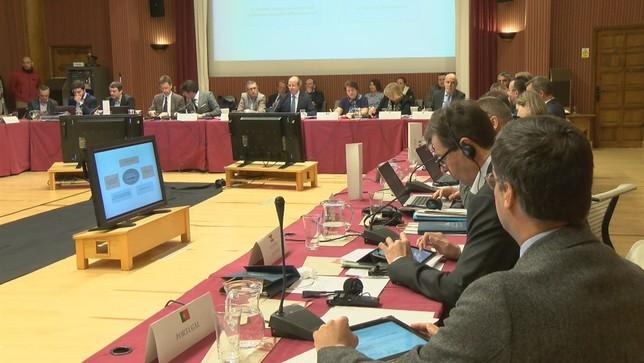 Europa diseña en el CENEAM su estrategia en materia de medio ambiente Olga Rubio