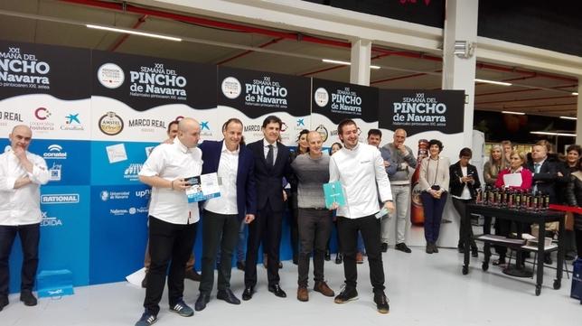 Baserriberri, campeón de la Semana del Pincho