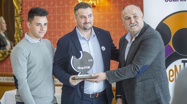 Los hermanos Márquez dedicaron su premio a su padre fallecido Pablo Lorente