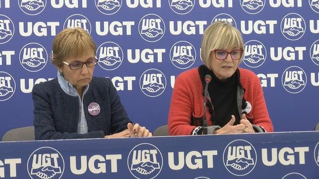 UGT denuncia que los salarios de las mujeres son más bajos