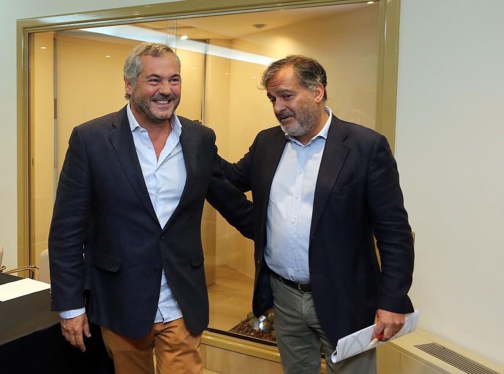 Excandidatos de Cs en Valladolid ven a Rivera
