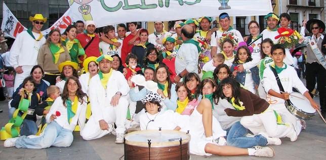 50 fiestas en verde y amarillo en El Burgo