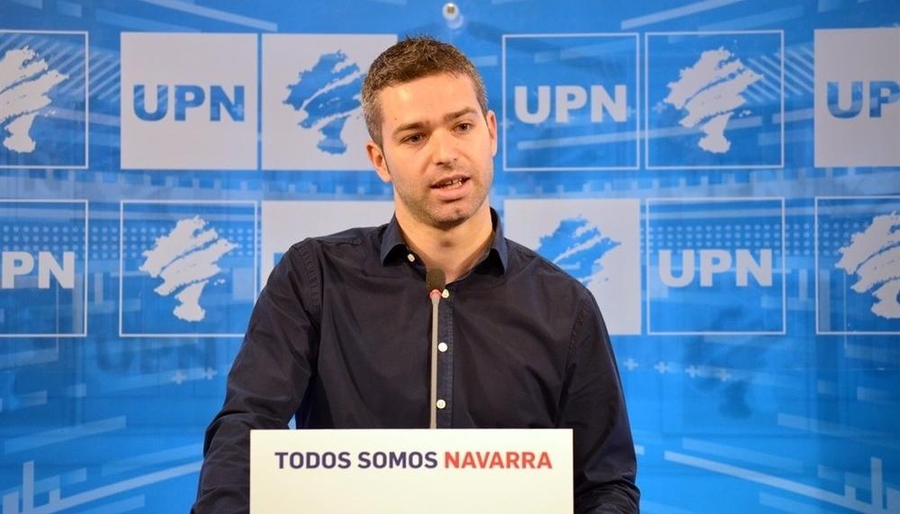 Na+ pide la dimisión de Etxeberria, portavoz de Geroa Bai