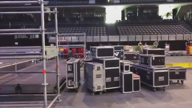 El Navarra Arena, listo para el inicio de la gira de OT 2018