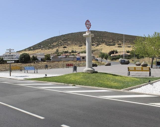 Desaparece la bandera de España de la plaza de la UME