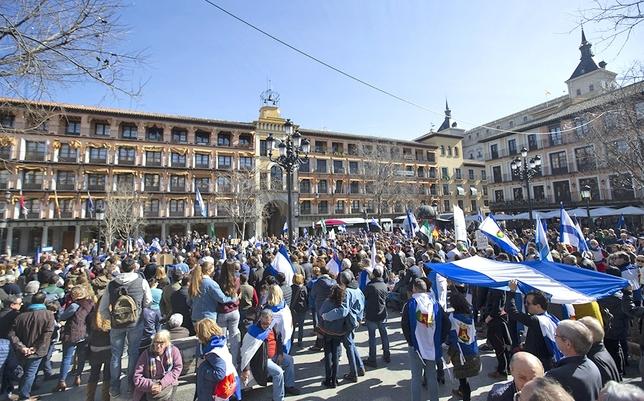 Talavera «exige» en Toledo tren digno e inversiones Yolanda Redondo