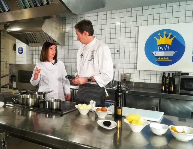 'Los fogones del Reyno': un viaje gastronómico en Navarra TV