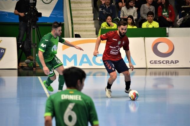 Rafa Usín anotó el cuarto gol de Osasuna Magna