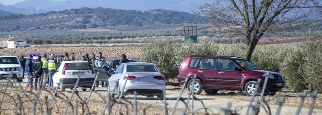 El homicida describe los hechos en el escenario del crimen Pablo Lorente
