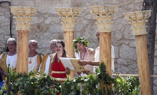 Baños de Valdearados regresa a la época romana