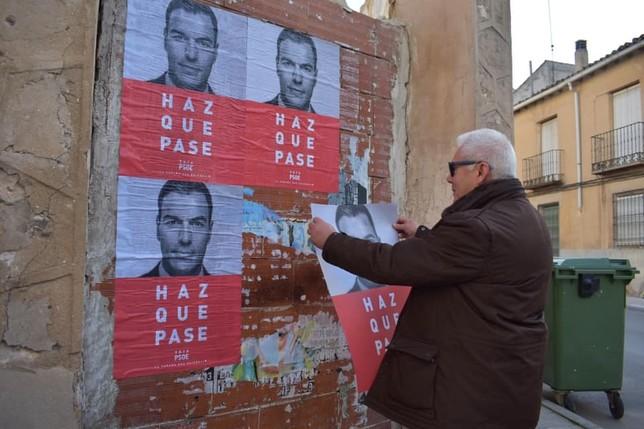 El PSOE de Tarancón pide el voto para Pedro Sánchez