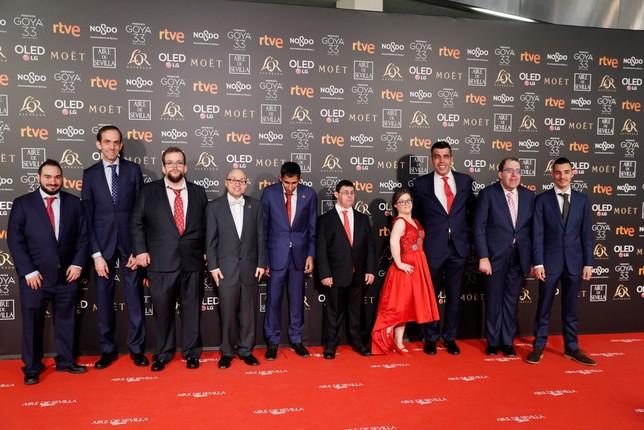 Una reivindicativa alfombra roja José Manuel Vidal