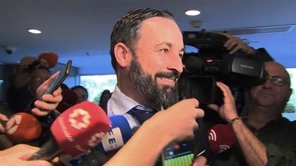 Santiago Abascal, presidente de Vox EP