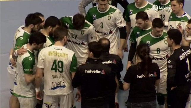 Nantes fue el máximo goleador de Helvetia Anaitasuna con seis goles de siete lanzamientos @BmHuesca