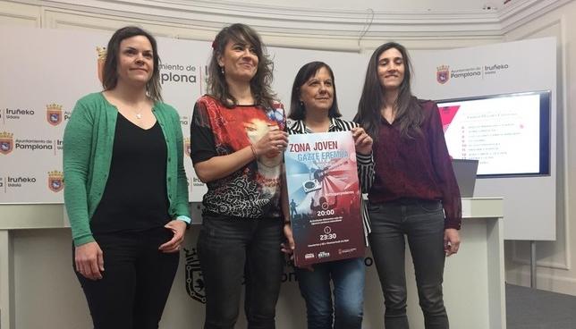 Presentación eventos Zona Joven Sanfermines Gonzalo Velasco