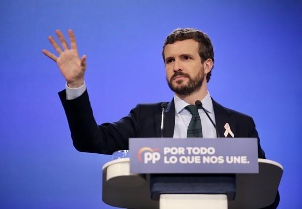 """Casado exige al PSOE que """"rompa"""" con los independentistas"""