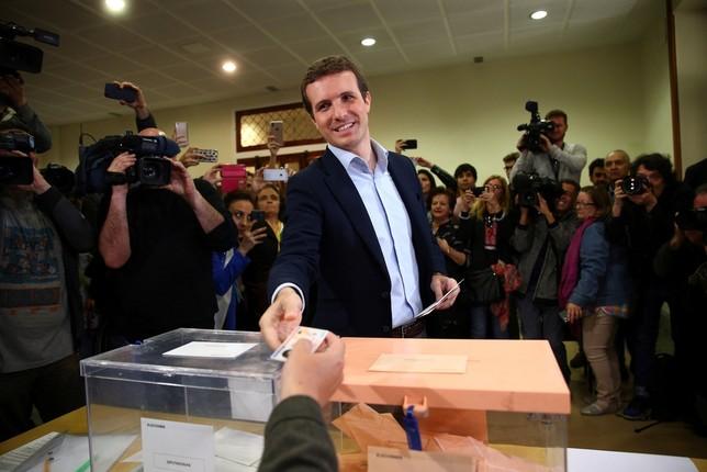 Los principales candidatos votan y llaman a la movilización Rodrigo Jiménez