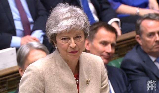 El Parlamento británico rechaza el Brexit por tercera vez UK PARLIAMENTARY RECORDING UNIT