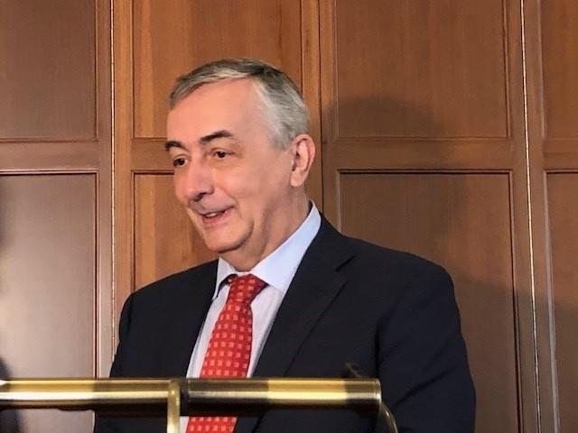 El director general de Funcas, Carlos Ocaña.