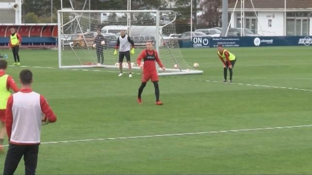 El catalán es el segundo futbolista que más minutos ha disputado con Osasuna esta temporada NATV