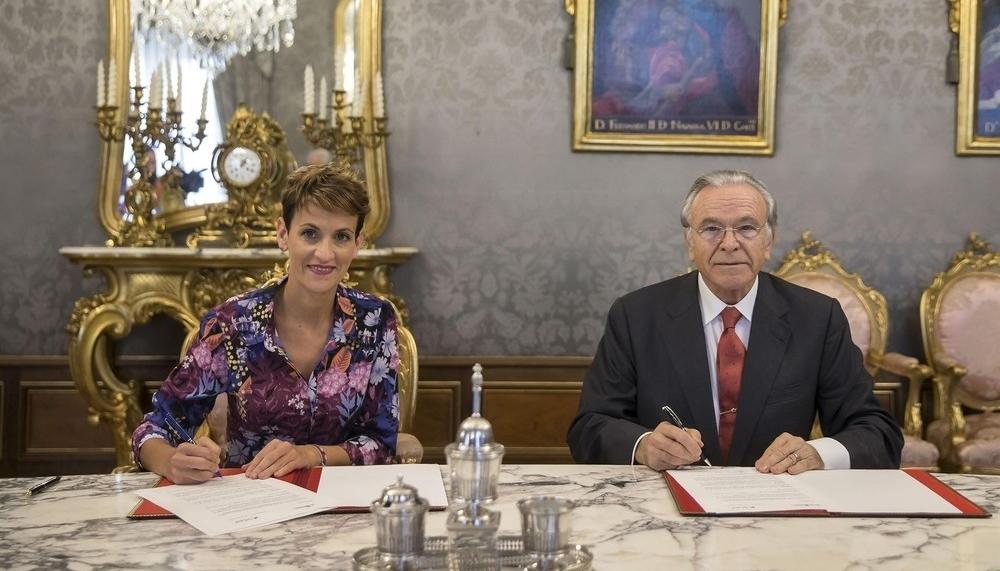 Chivite y La Caixa renuevan su acuerdo de colaboración