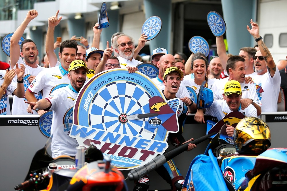 Alex Márquez campeón del mundo de Moto2