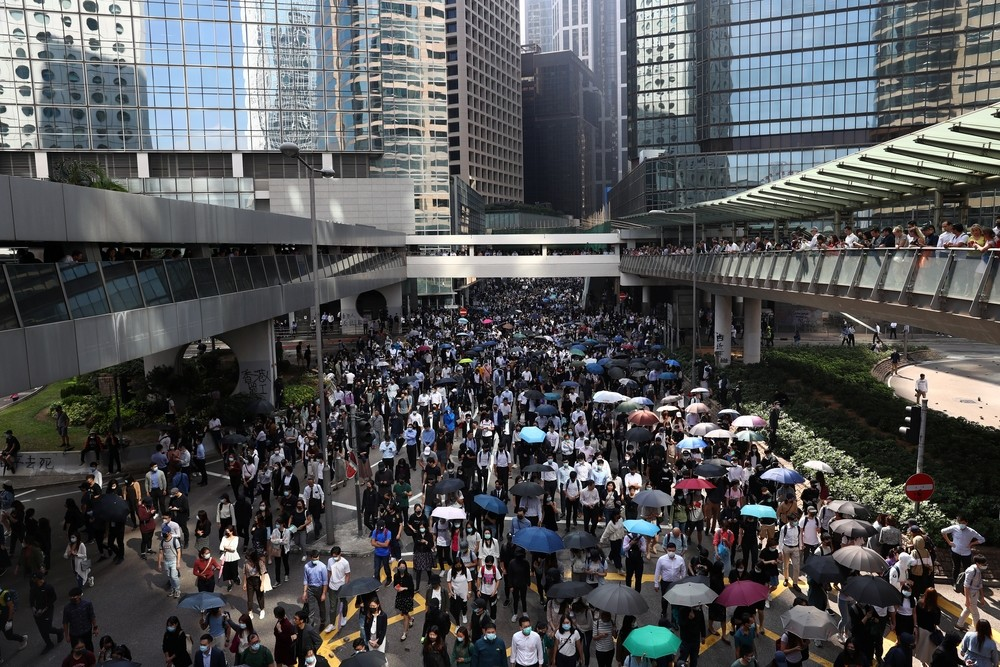 Hong Kong cierra los colegios por motivos de seguridad