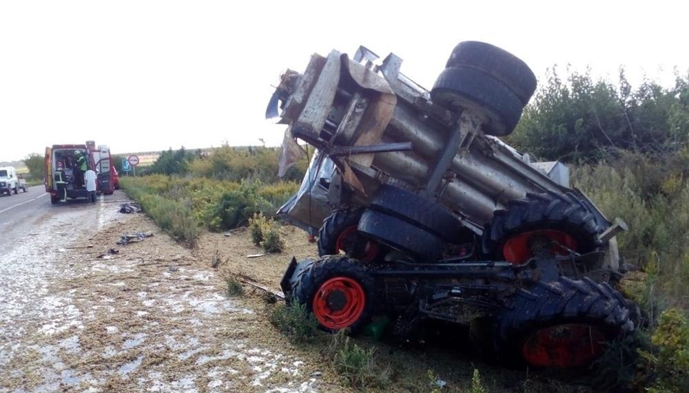 Un muerto en un accidente de tráfico en Olite