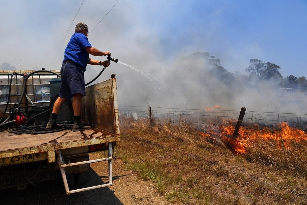 Australia evacúa a cientos de personas por los incendios