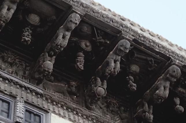 Garcés, el autor de valiosas maquetas con historia navarra