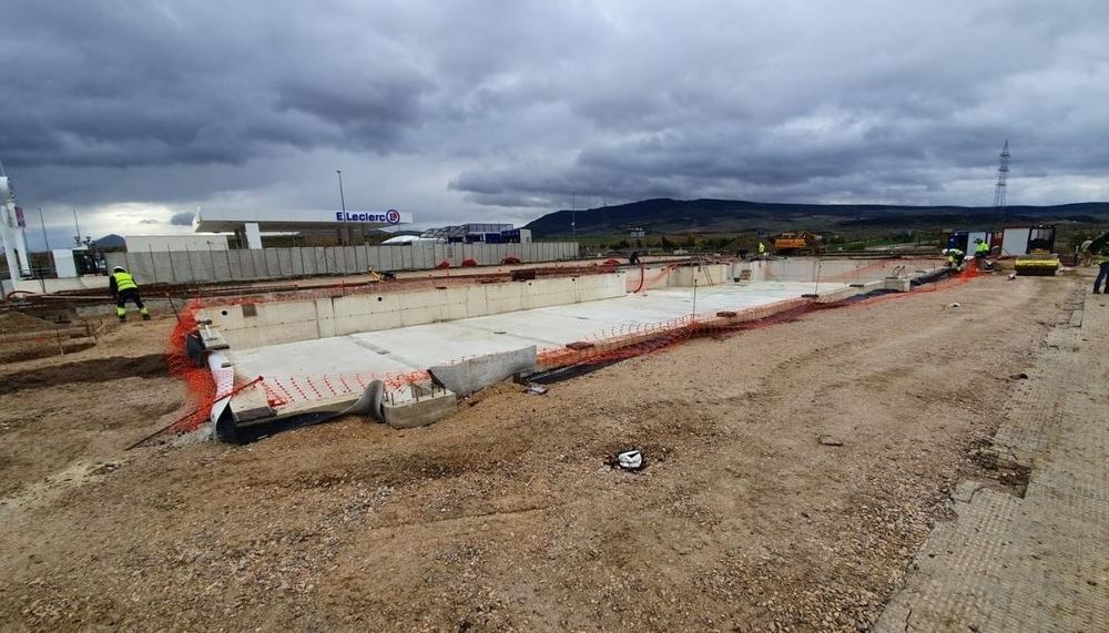 El mayor Burger King de Navarra y se construirá en horas