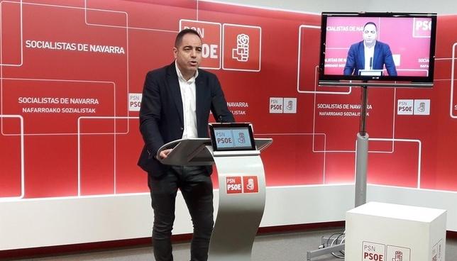Ramón Alzórriz, en rueda de prensa Europa Press