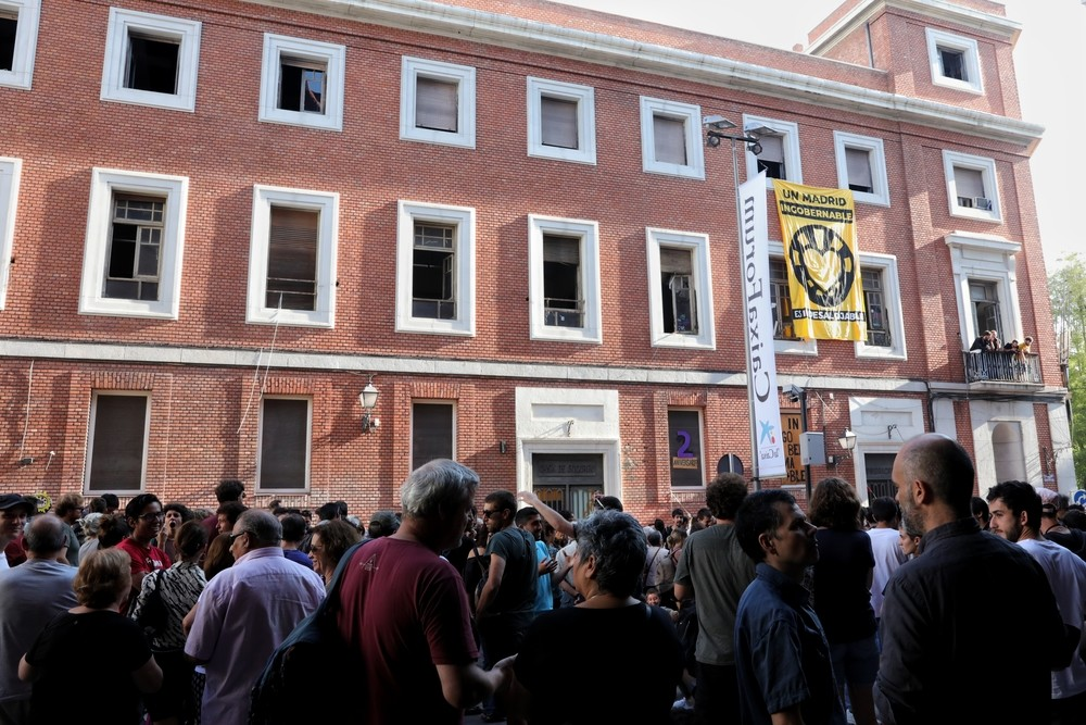 La Policía Municipal desaloja 'La Ingobernable'