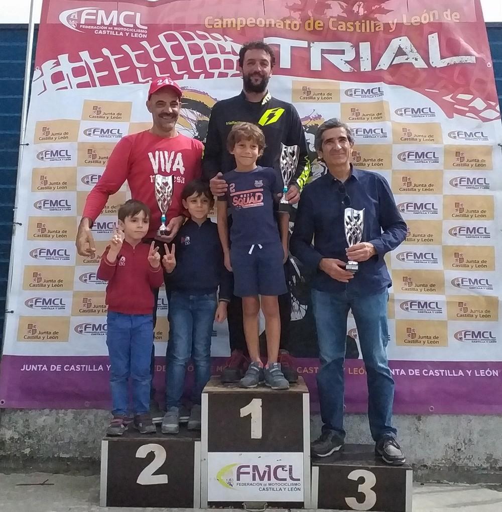 Sixto Pastor (Portillo) gana en TR4 en Cogeces