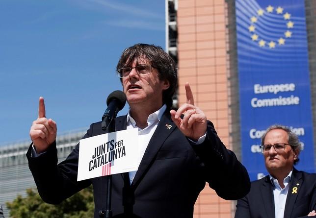 Estrasburgo rechaza la demanda de Puigdemont
