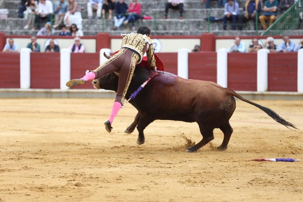 Cogida de El Cid en Valladolid.