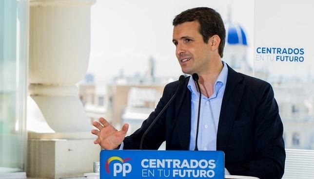 El PP no se opone a la abstención de los diputados de UPN