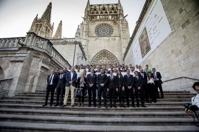 El Burgos CF se presenta en sociedad