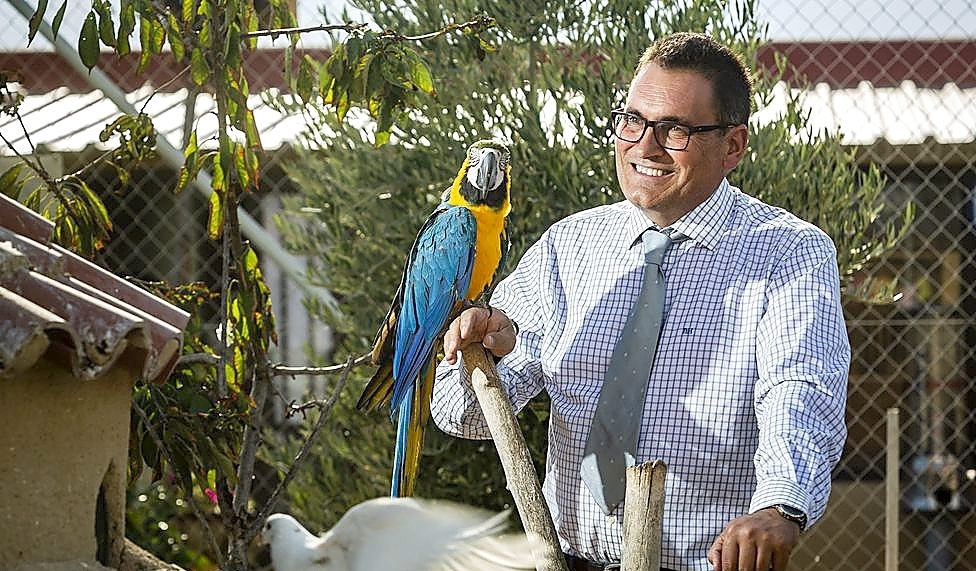 Enrique Marcos, un banquero que se instaló en Fresno.