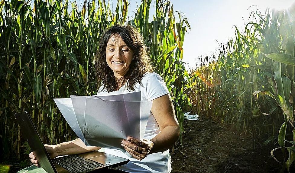 Raquel Gago, una administrativa que volvió a San Román.