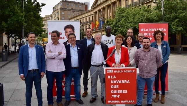Chivite apela a Podemos e I-E a buscar acuerdos